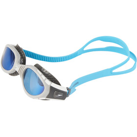 speedo Futura Biofuse Flexiseal Mirror Maschera, usa charcoal/grey/blue mirror
